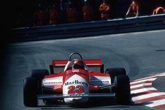 Bruno Giacomelli (Marlboro Team Alfa Romeo), Alfa Romeo 179C - Alfa Romeo 1260 3.0 V12, 1981 Monaco Grand Prix