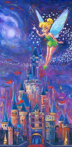 Disney Castle and Tink Artwork! XD Disney Castle and Tink Artwork! XD ♥ The post Disney Castle and Tink Artwork! XD appeared first on Paris Disneyland Pictures. Disney Magic, Disney Pixar, Disney Amor, Disney Love, Tinkerbell Disney, Princesas Disney Dark, Disney Traditions, Daffy Duck, Disney Films