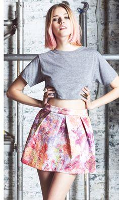 même les newsletter Asos ont les cheveux roses...