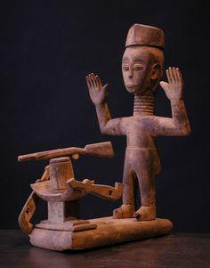 Ashanti Or Fante Figure
