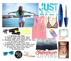 """""""I LOVE SUMMER"""" by stylist234 on Polyvore"""