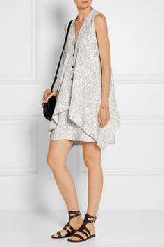 Maiyet   Printed silk crepe de chine mini dress   NET-A-PORTER.COM