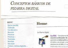 conceptos básicos de Pizarra Digital