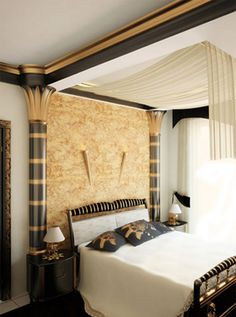 1000 images about egyptian style home decor ideas on for Egyptian bedroom designs