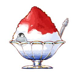 Shaved ice ~ penguin