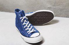 94806c4f7c4d Converse Chuck Taylor All Star 70 hi - vintage suede mykonos blue