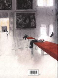 Contraportada La travesía del Louvre - David Prudhomme