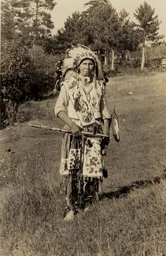 John Frog (Ojibwa), 1922 by Marquette University Archives.