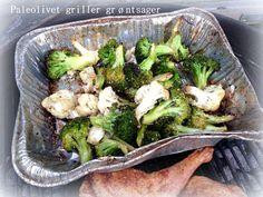 Paleolivet: Grillet broccoli og blomkål - og andre grillede gr...
