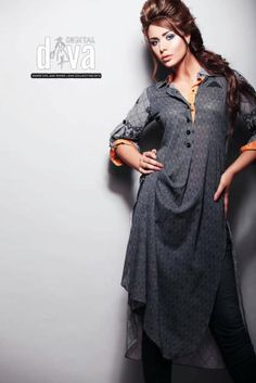 Pakistani Summer Shalwar Kameez Modest Dresses, Elegant Dresses, Casual Dresses, Pakistani Models, Pakistani Outfits, Pakistan Fashion, India Fashion, Ethnic Outfits, Indian Outfits