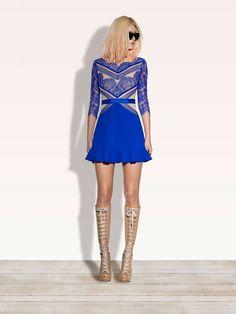 THREE FLOOR - SHADES OF BLUE Dress