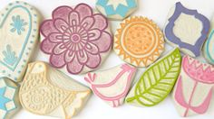 Handmade Stamps from Sarah Kathryn's Creatiate