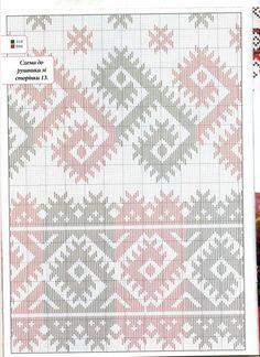 Towel Embroidery, Embroidery Stitches, Embroidery Designs, Punto Fair Isle, Irish Traditions, Cross Stitch Borders, Irish Lace, Bargello, Pattern Books