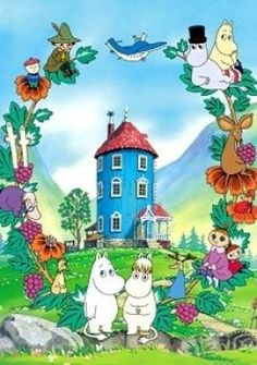 "Anime Nostalgia, the thread. I think everything shown in this thread was in my Blockbuster video's ""foreign"" animation section. Best Cartoons Ever, Cool Cartoons, Moomin Wallpaper, Strange Adventure, Moomin Valley, Illustration Noel, Tove Jansson, Animation, Wall Collage"