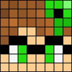 Minecraft Heads, Minecraft Face, Minecraft Drawings, Minecraft Pixel Art, Minecraft Crafts, Minecraft Templates, Pixel Art Templates, Painting Templates, Minecraft Designs