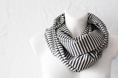 nice striped scarf