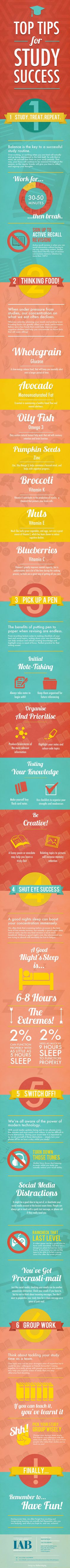 Use these tips to develop successful study habits.