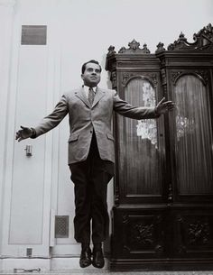 Richard Nixon jumping
