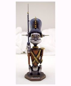 Tin Toy Robot Soldier***Research for possible future project.