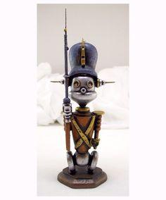 Tin Toy Robot Soldier