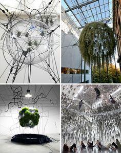 "Tomás Saraceno, ""In Orbit"".  Contemporary Art, Architecture."