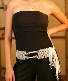 Pay attention to this soda tabs belt!