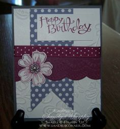 Stampin Up Flower Shop Birthday Holdiay Catalog Sale a Bration