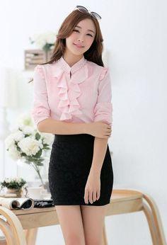 Lovely blouse excellent design. Slave Collar, Blouse, Design, Blouses, Woman Shirt, Hoodie, Top