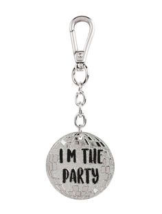 I'm The Party Key Charm