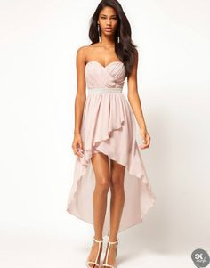 I love this color, so pretty. I wanted this dress a few years ago when I wanted to go to Prom, but I never got it (or went to prom). LOL