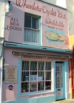 Wheelers Oyster Bar in Whitstable Kent