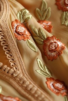Moroccan embroidery.