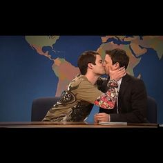 Seth and Stefon Meyers