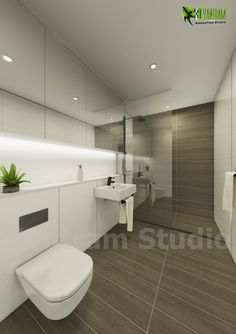 #Modern #Bathroom #Interior #Design  #Home