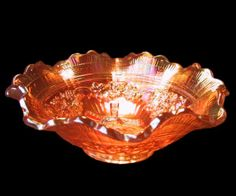 Imperial Glass Marks | Details about Imperial Marigold Windmill Carnival Glass Bowl / Dish