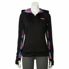 FILA SPORT Samoa French Terry Performance Jacket - Women's...a Lady has to look good while working out...