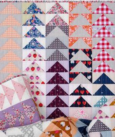 Yours Truly - A Flying Geese Quilt | Red Pepper Quilts | Bloglovin'