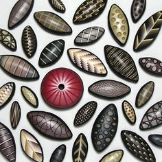 Cutting Edge Beads by Dan Cormier, via Flickr.