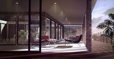 Perspective 3D d'extérieur - Scène d'exterieur Terrasse
