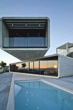 with a flourish — livingpursuit:   Crossed House by Clavel...