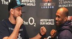 UFC Fight Night London Media Day VLOG