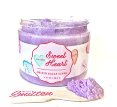Gelato Sugar Scrub Limited Edition Dreamsicle, Hand made in the USA By Feeling Smitten Aminogenesis Counter Clockwise Treatment, 0.5-Ounces