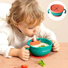 3in1 Baby Feeding/Snack/Soup Bowl with Straw– mycozykid