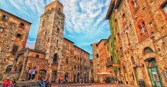 Principais pontos turísticos em San Gimignano #viajar #viagem #itália #italy
