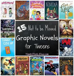to 2 Posh Lil Divas: 15 Graphic Novels for Tweens Yr. Olds) Not To Be Missed! From to 2 Posh Lil Divas: 15 Graphic Novels for Tweens Yr. Olds) Not To Be Missed! Reading Library, Kids Reading, Library Books, Reading Lists, Library Ideas, Ya Books, Books To Read, Comic Books, Text Feature Anchor Chart