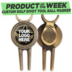 Get Ready For Your Next #Golf Game With #CrownAwards New #ProductOfTheWeek -- Custom Golf Divot Tool. Personalize This #GolfAcccessory With Your Own Design! #GolfGifts #FathersDay #GiftIdeasForHim #DadGifts https://www.crownawards.com/StoreFront/IB7.Trophy_Awards_Trophies_And_Awards.cat