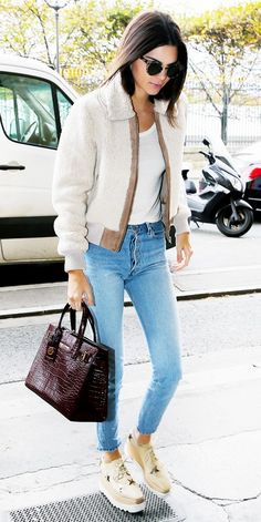 How to Get Away With Wearing Jeans Everywhere: A Celebrity Guide. #stylingtips #celebrity #kendalljenner