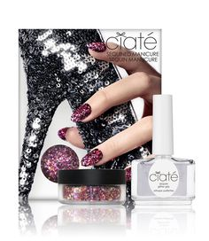 Ciaté Sequined Manicure - Tutu #negle #neglelak #nail polish Manicure, Nails, Tutu, Nail Polish, Sequins, Glitter, Beauty, Nail Bar, Finger Nails