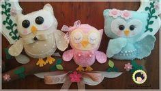 Wal Artesanal o site do feltro: owl