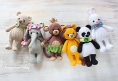 Cuddle Me Toys - Free Crochet Patterns